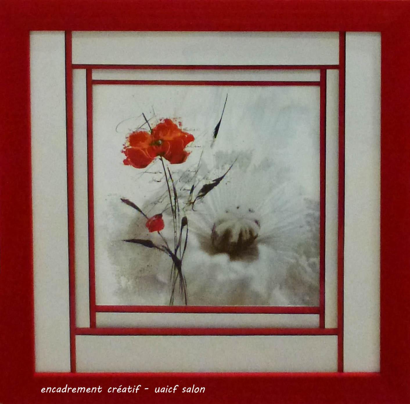 Fleurs imbriquées