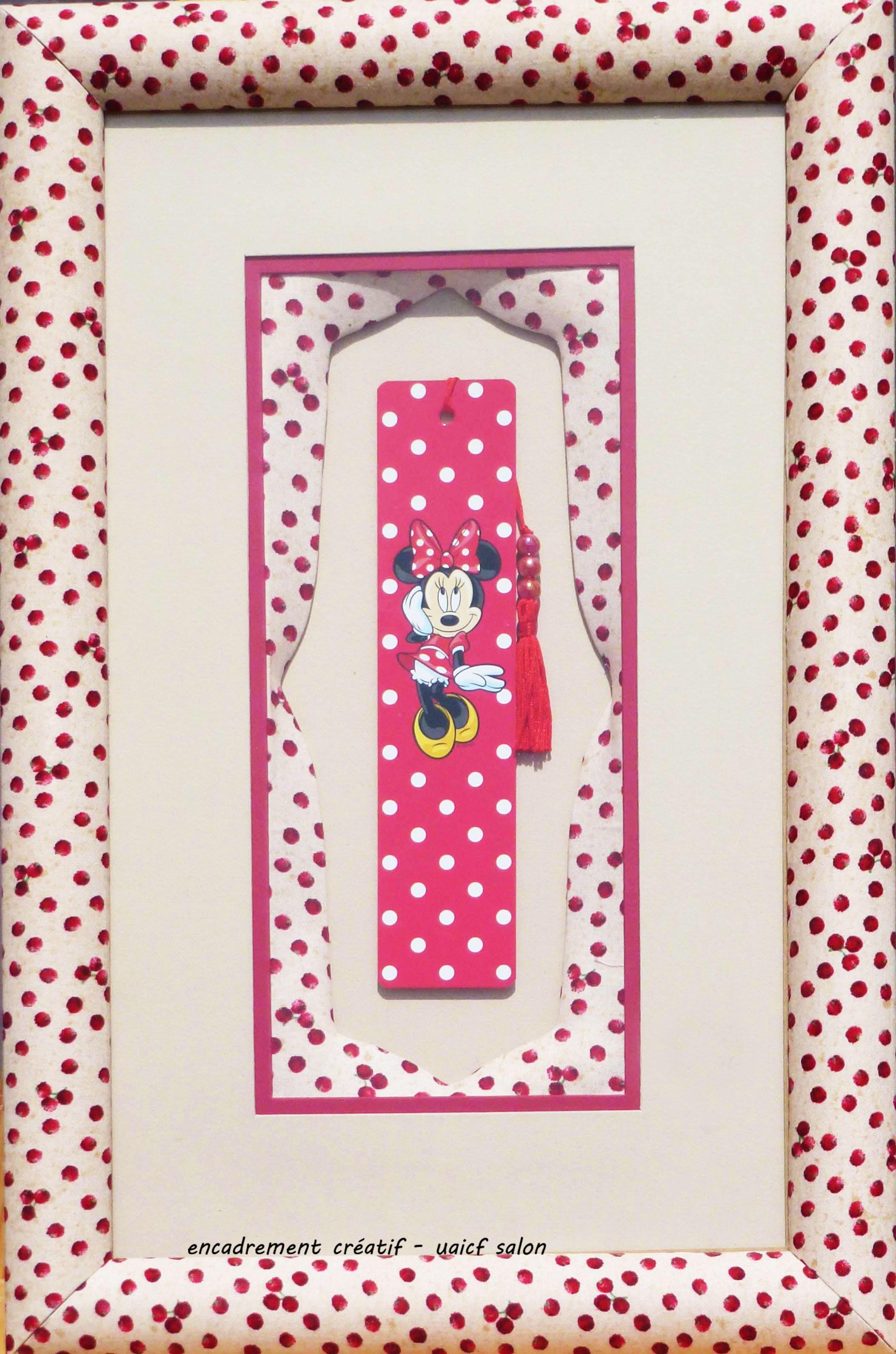 Marque-page Minnie