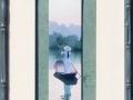 Marque-page chinoise en barque