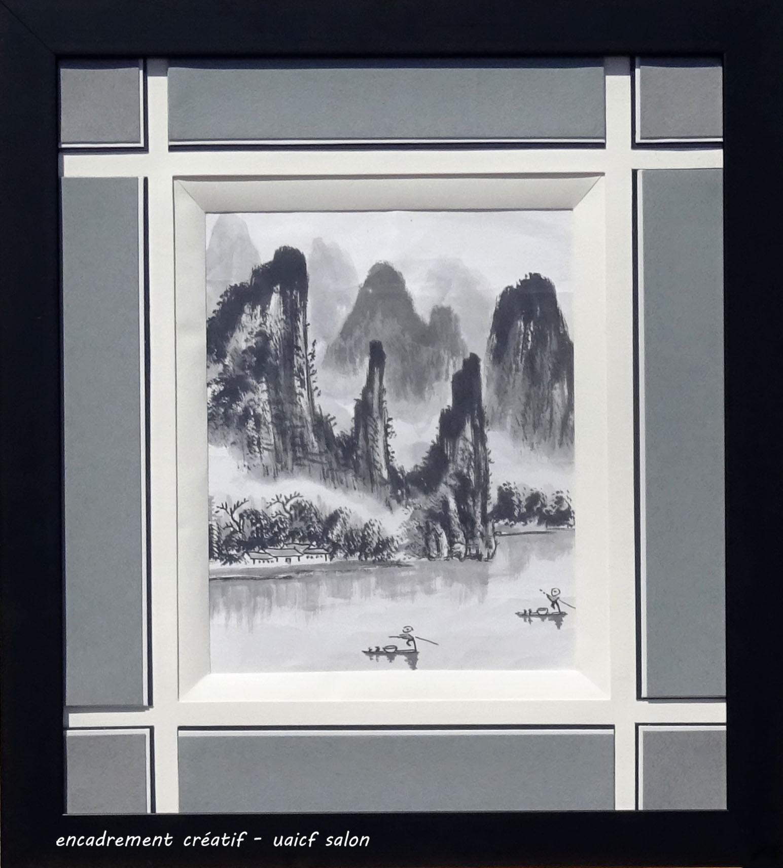 Paysage chinois Josiane